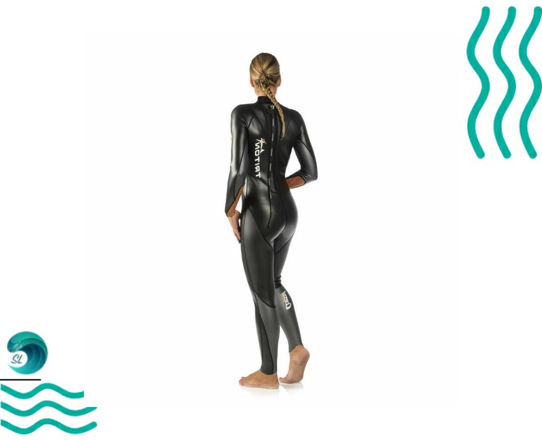 Полный гидрокостюм для плавания на открытой воде