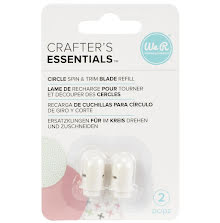 We R Memory Keepers Circle Spin & Trim Refill Blades 2/Pkg