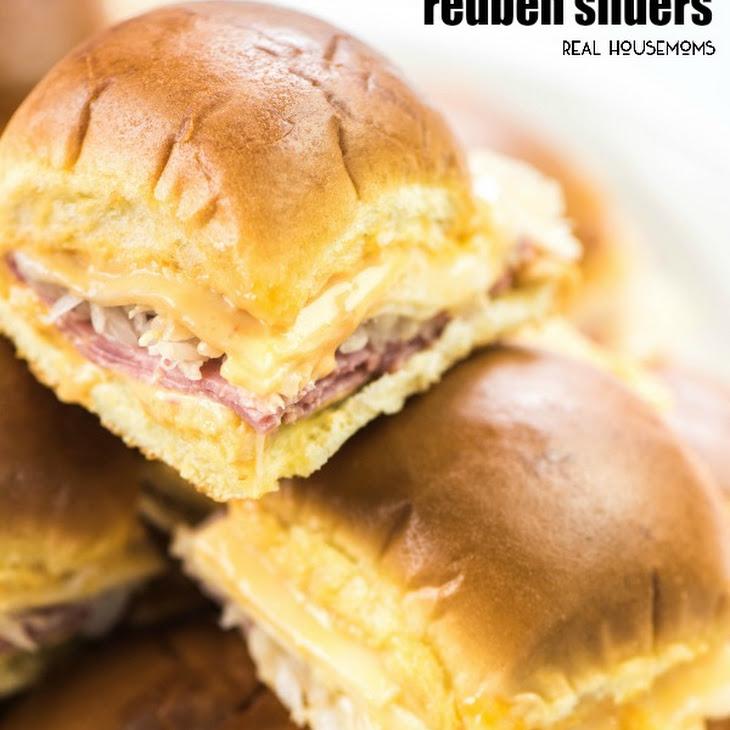 Baked Reuben Sliders