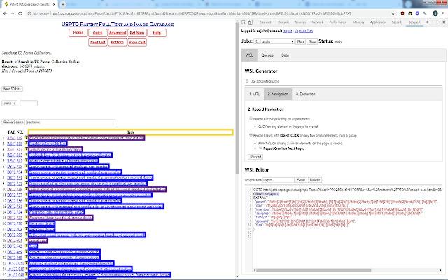 Scrape.it Point-Click Web Scraping Tool