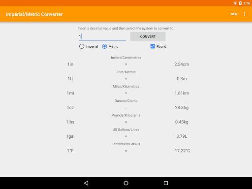 玩生產應用App|Imperial Metric Converter免費|APP試玩