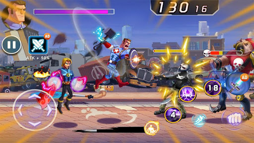 Captain Revenge - Fight Superheroes 1.0.2.1 screenshots 1