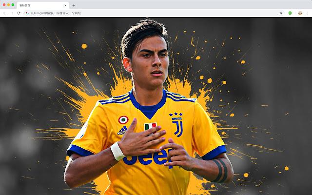 Juventus F.C. Pop Sports HD New Tabs Theme