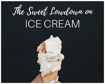 The Sweet Lowdown on Ice Cream