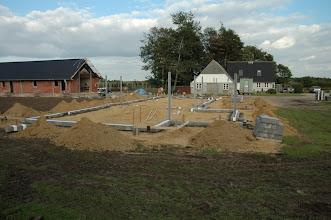 Photo: Vores nye hus set fra vest.