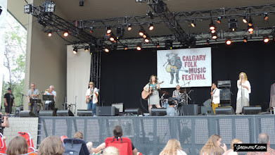 Photo: Franzey Ford at the Calgary Folk Music Festival 2015