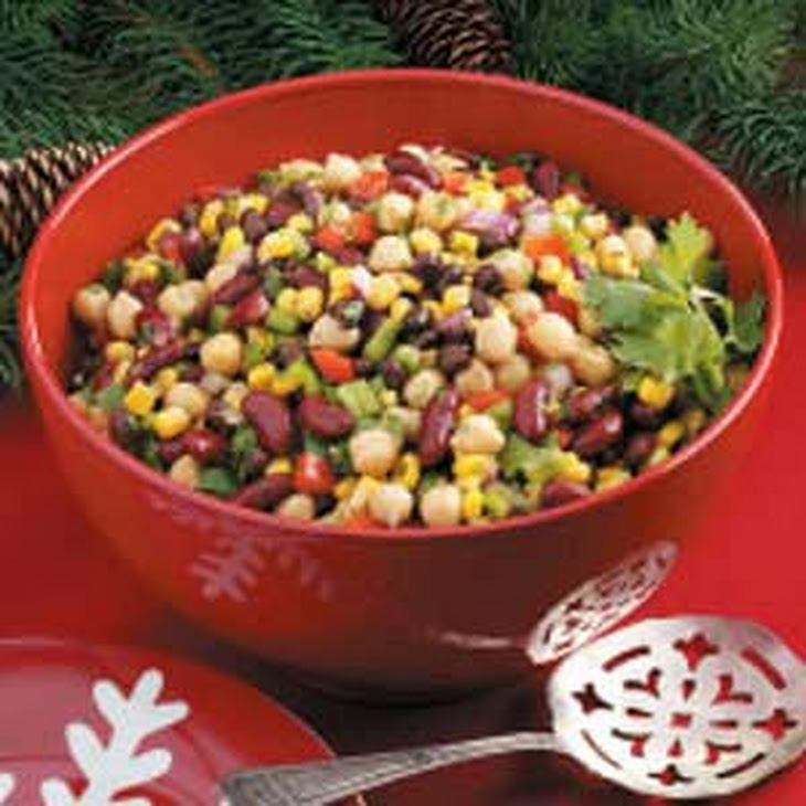 Confetti Bean Salad Recipe