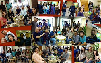 """Photo: February Tea Party was characterized by the """"young spirits"""" with no regards of anybody's age! From children, students to entrepreneurs, all were """"young at heart"""" and I enjoyed the conversation with every friend. So wonderful people are in Pune, and I am proud!! I would like to thank each of the participant for visiting all the way and making the tea party excellent, as well as the Cafe 3.5 for homely and friendly arrangements. I hope to maintain the tea party a homely place for everyone who wants to meet new people in the city. If you are interested in participating the event, please write to Yoko at yokodeshmukh@gmail.com, or join Facebook page """"Pune International Tea Party"""" at https://www.facebook.com/groups/213725268657442/ or Meetup page """"Young Internationals in Pune"""" at http://www.meetup.com/Young-Internationals-in-Pune/. I sincerely look forward to meeting many new friends in the future! 23rd February updated -http://jp.asksiddhi.in/daily_detail.php?id=463"""