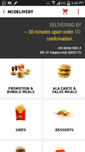 McDelivery Singapore 2