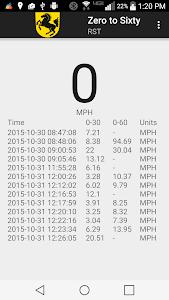 Zero to Sixty (0-60 Timer) screenshot 0