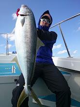 Photo: グッドサイズ!6kgのヒラスキャッチです!