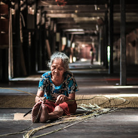 Long House IBAN Tribe by Ricky Inex's - People Portraits of Women