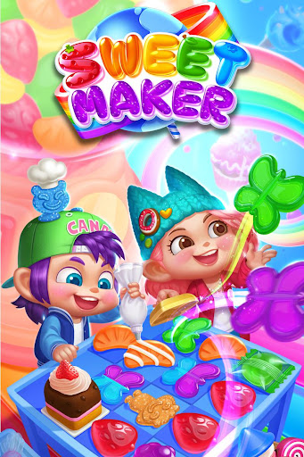 Sweet Maker - DIY Match3 Mania for PC