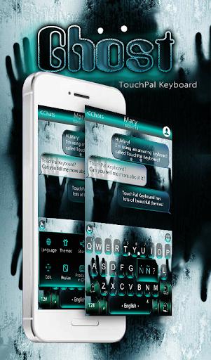 Horror Ghost Keyboard Theme