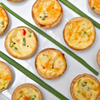 Miniature Vegetable Quiches