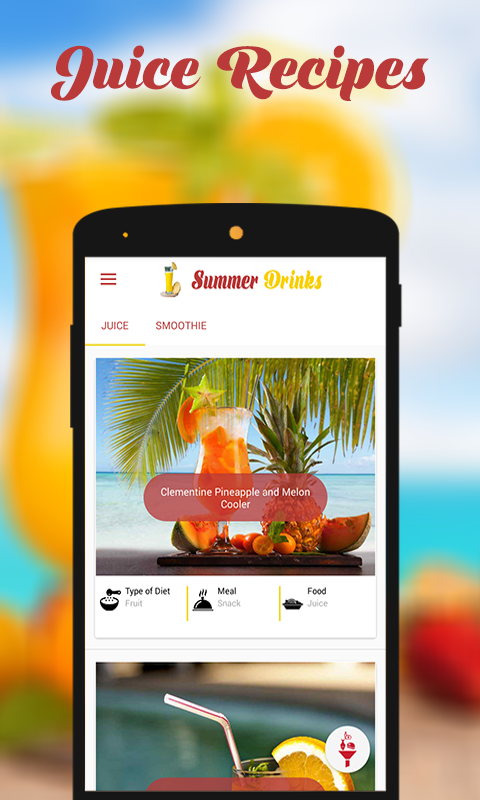 HEALTHY SUMMER DRINKS- screenshot