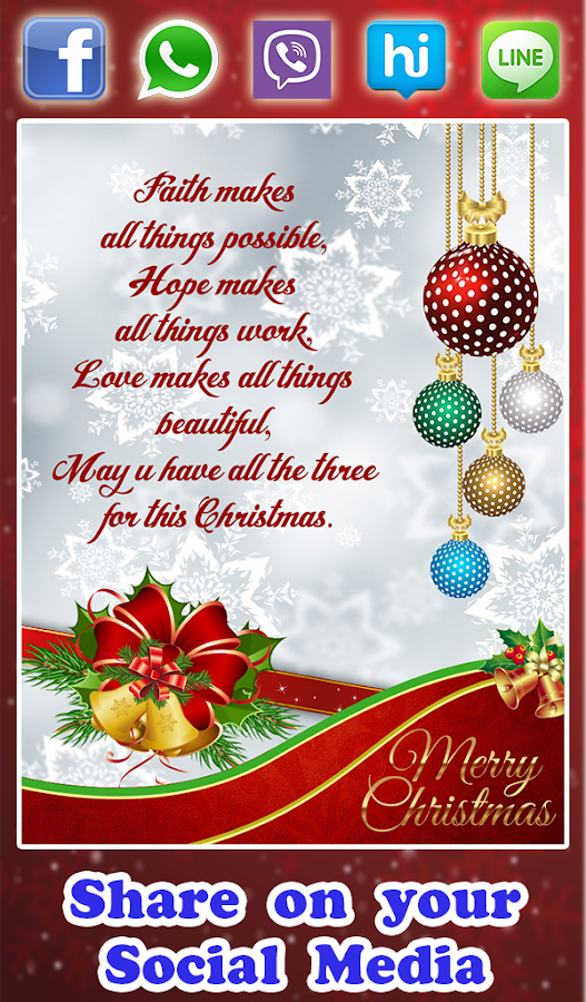 christmas greeting cards  android apps on google play, Greeting card
