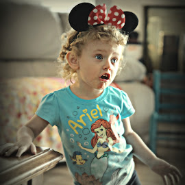 Sing along with Mickey by Peggy Clark - Babies & Children Children Candids ( love, family, granddaughter )