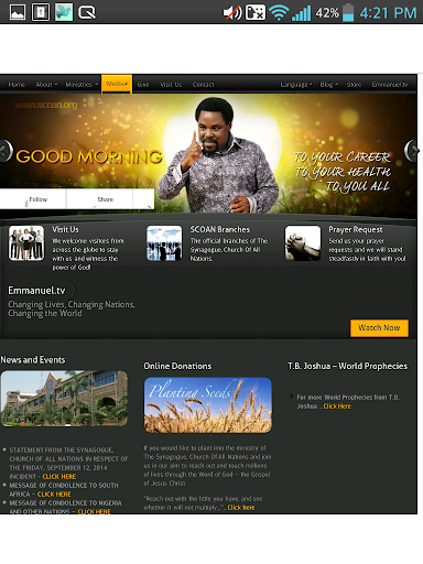 Download T B  JOSHUA MINISTRIES Google Play softwares - aOFSaWTgjWGl