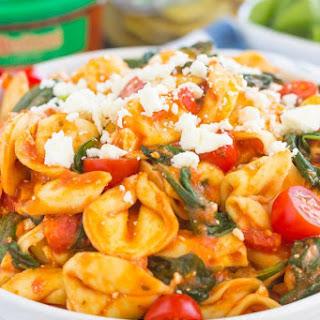 Spinach and Feta Tortellini.