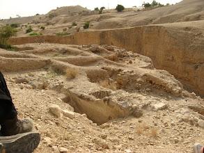 Photo: Remains of Hasmonean palaces...שרידי ארמונות החשמונאים