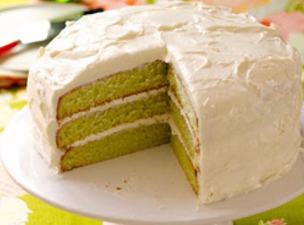Fresh Key Lime Cake Recipe