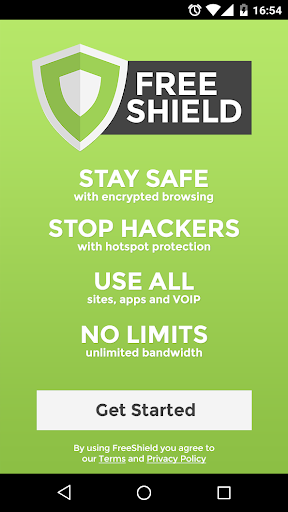FreeShield: Unlimited Free VPN