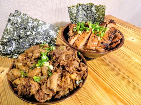 新竹北區 川牛木石亭~就是不讓你小口吃飯!大份量、高CP值燒肉丼飯邪惡涮嘴~