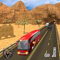 Mountain Climb Bus Racing 2019 - Bus Driving Sim icon