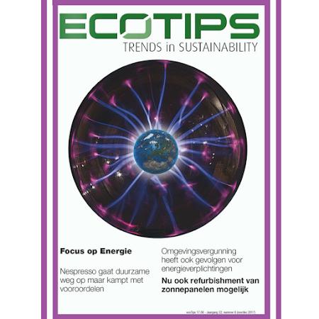 MAGAZINE - ECOTIPS december over hernieuwbare en duurzame energie