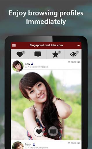 SingaporeLoveLinks - Singapore Dating App 3.1.5.2411 screenshots 10