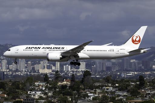 Japan Airlines' Fleet In 2021