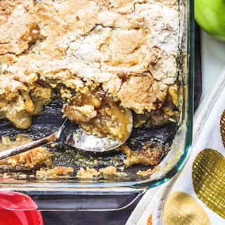 Easy Caramel Apple Dump Cake.