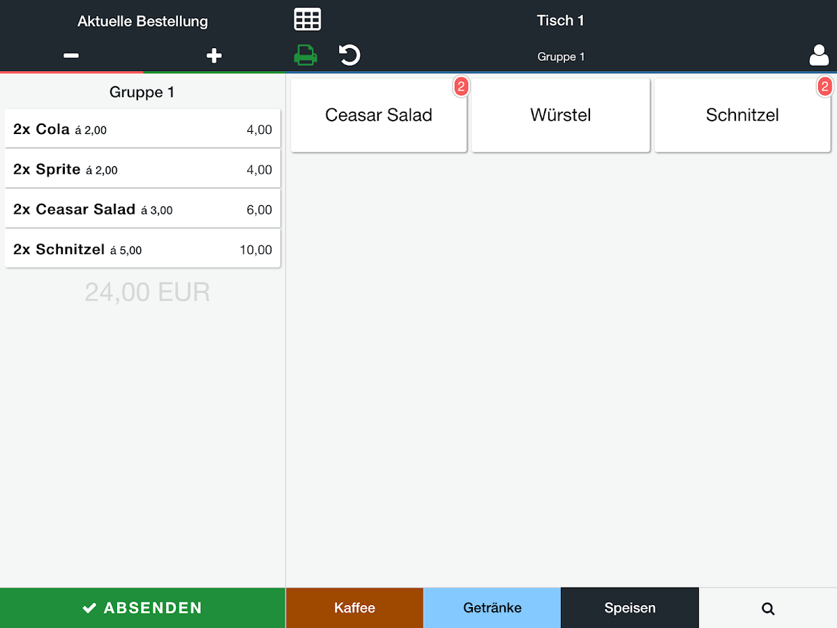 ready2order POS- screenshot