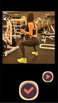Sexy Squat Fitness Girls Game