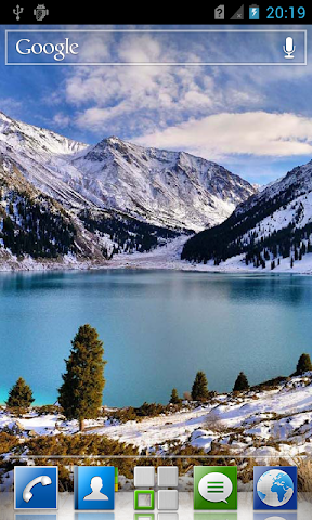 android Mountain lakes live wallpaper Screenshot 5
