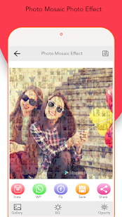 Crazy Snap Effect : Mirror & Window Mosaic Effect - náhled