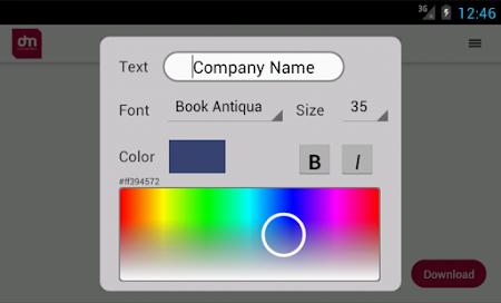 Free Logo Maker - DesignMantic 1.0 screenshot 43396