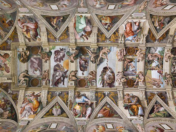 Resultado de imagem para capela sistina