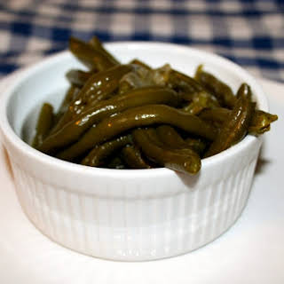Pressure Cooker Country Style Green Beans.