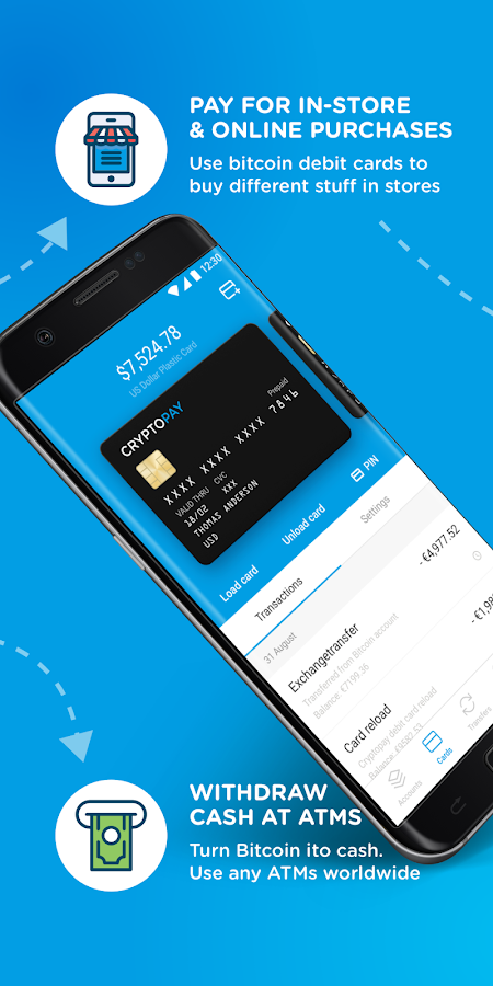 Cryptopay- screenshot