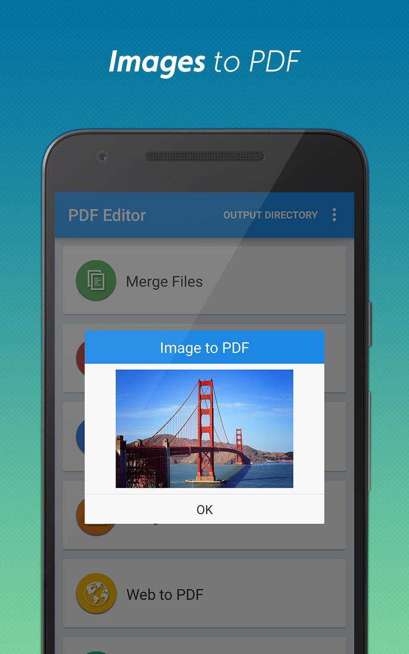 PDF converter pro & PDF editor - pdf merge Screenshot 2