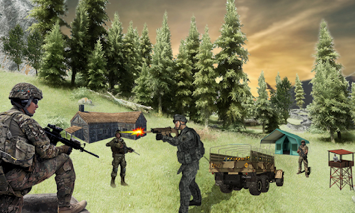Combat Army Commando Fight- screenshot thumbnail
