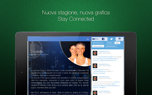 Mediaset Connect- screenshot thumbnail