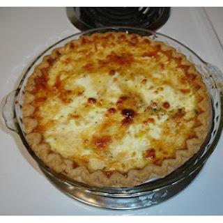 Onion, Cheese and Bacon Quiche