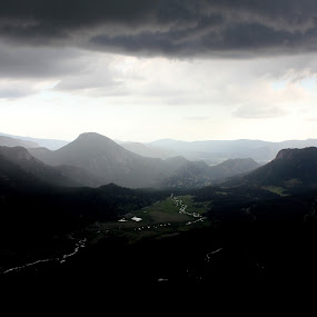 Rocky Mountains by Karthic Kumar - Landscapes Mountains & Hills ( hills, mountain, rainy, cloudy, scenic, spring )