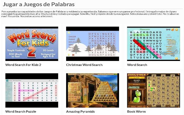 Juegos de Palabras   AppBack.pw