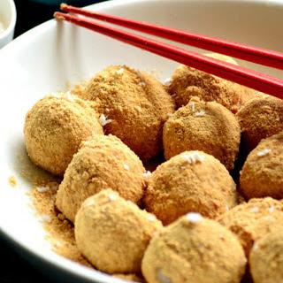 Indian and Japanese Rice Dumpling Fusion [Vegan].