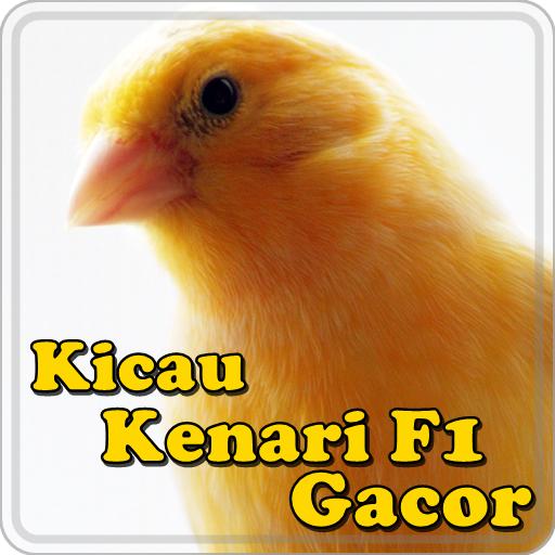 Kicau Kenari F1 Gacor 音樂 LOGO-玩APPs