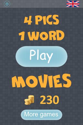 玩免費拼字APP|下載4 pics 1 word: Movies app不用錢|硬是要APP